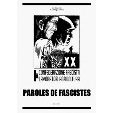 COLLECTIF : Paroles de fascistes